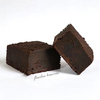 Flourless Gluten Free Brownies.