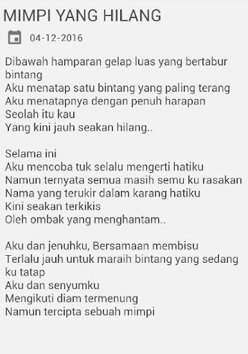 Puisi Cinta Sedih Galau Apk Download Apkpure Co