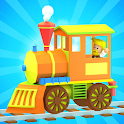 3D Fun Learning Toy Train Game For Kids & Toddlers icon