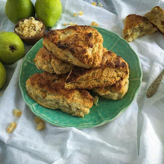 Pear and Ginger Scones