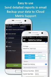 MyRideTrac - Mileage Tracker - náhled