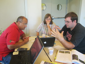 Photo: Technical Support Session 9/07/2013