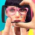 Pixel 8 bit editor effects icon