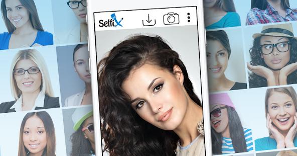 Selfix - Photo Editor And Selfie Retouch Screenshot