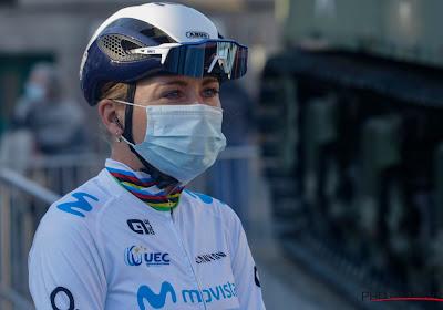 Van Vleuten moet het deze keer afleggen in sprint met drie, Cubaanse klopt ook winnares Brabantse Pijl