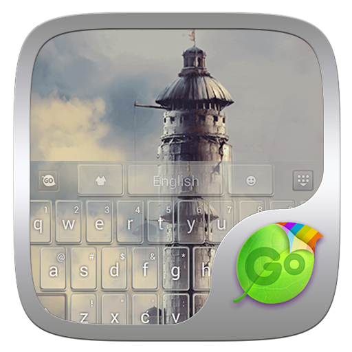 Lost Tower GO Keyboard Theme