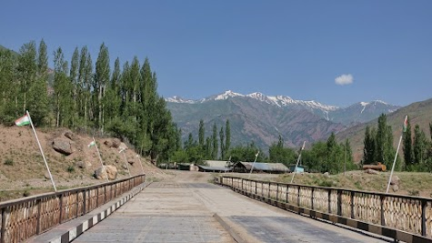 Southern end of the Saghirdasht pass.
