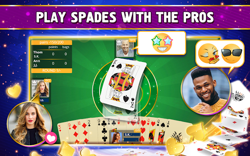VIP Spades - Online Card Game 3.6.85 screenshots 21