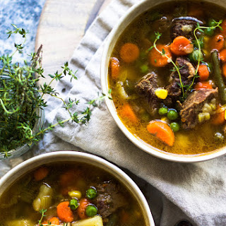 Homemade Beef and Vegetable Soup Recipe