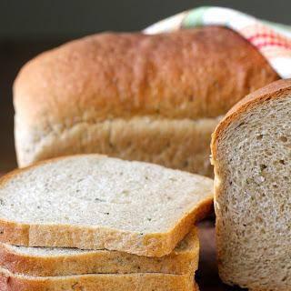 Rosemary, Garlic, and Parsley Whole Wheat Bread