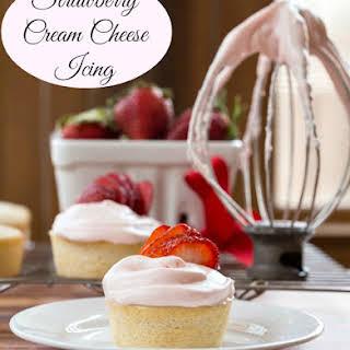 Strawberry Cream Cheese Icing.