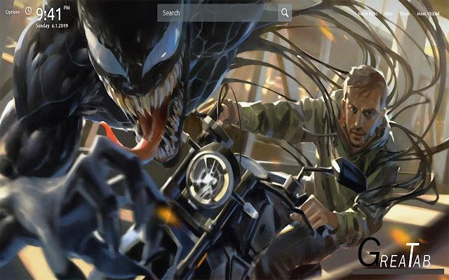 Venom Wallpapers Theme |GreaTab