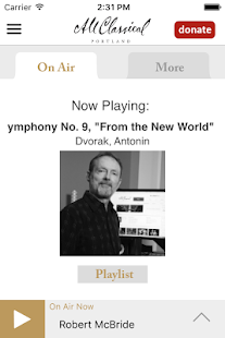 All Classical Portland App- screenshot thumbnail