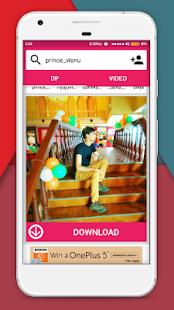 DP & Videos Downloader for Instagram - náhled