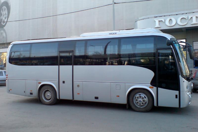 Higer в Екатеринбурге