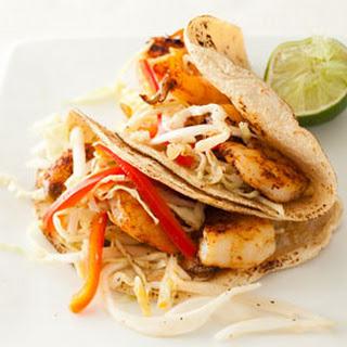 Shrimp Tacos with Citrus Slaw