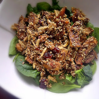 Cranberry Chicken Quinoa Salad