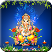 Ganesh Ji Live Wallpaper 3D