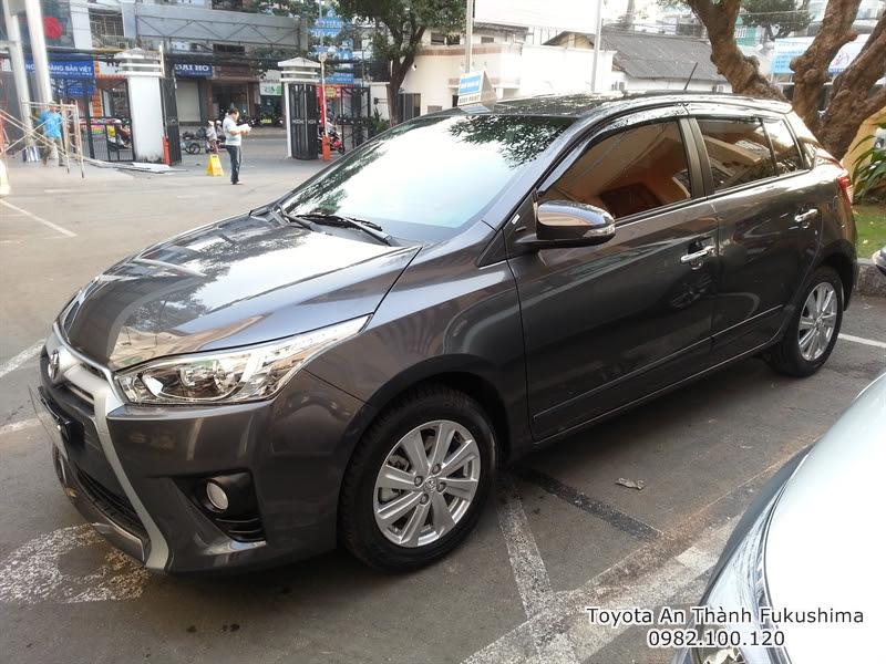 Giá Xe Ôtô Toyota Yaris 2016 1.3 G Nhập Khẩu Màu Xám