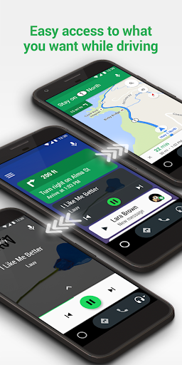 Android Auto - Maps, Media, Messaging & Voice  screenshots 5