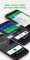 screenshot of Android Auto - Maps, Media, Messaging & Voice