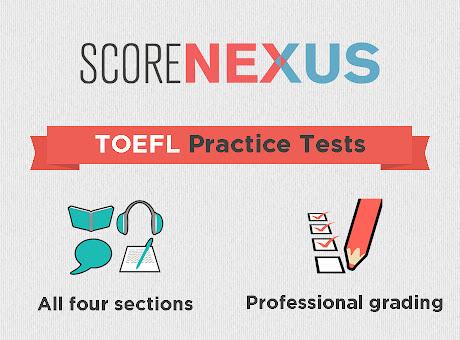 ScoreNexus TOEFL Practice Tests