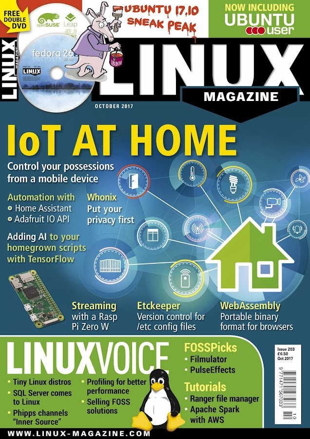 Linux Magazine- screenshot