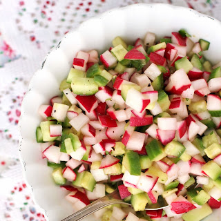 Radish Cucumber Salsa
