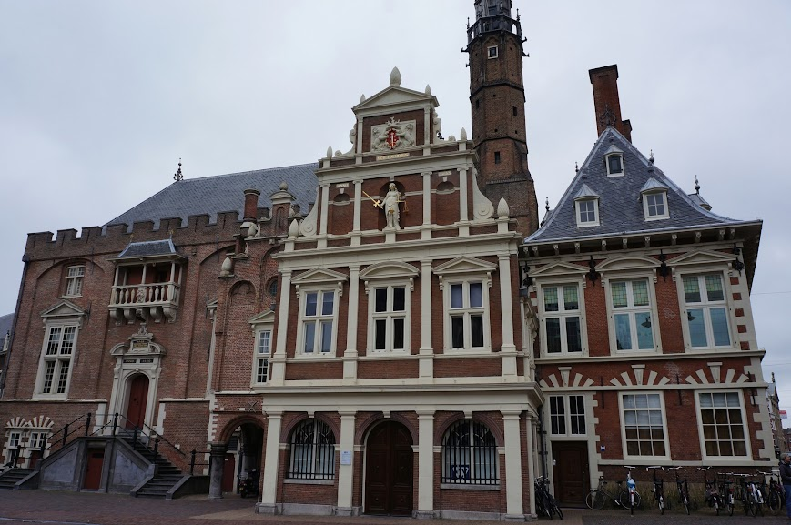 Town hall in Haarlem, Holland (2014)
