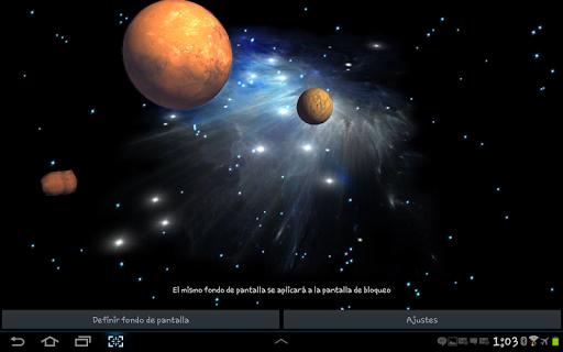 3D Galaxy Live Wallpaper 4K Full screenshot 24