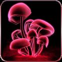 Champignon 3D Live Wallpaper icon