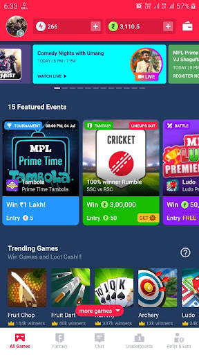 Guide for MPL Game App : MPL Pro Live Game Tips hack tool