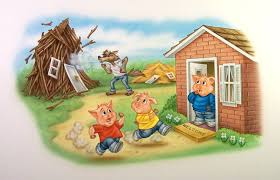 Image result for the three little pigs straw house