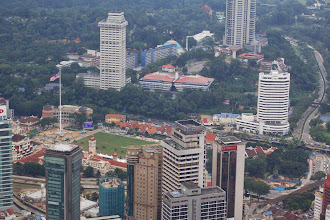 Photo: The Independence Square from the KL tower
