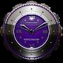 Премиум Dragon Clock Widget purple временно бесплатно