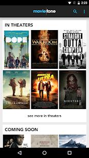 Moviefone - Movies & Showtimes- screenshot thumbnail