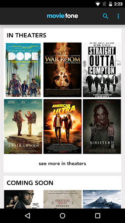 Moviefone - Movies & Showtimes 3.0.1 screenshot 81500
