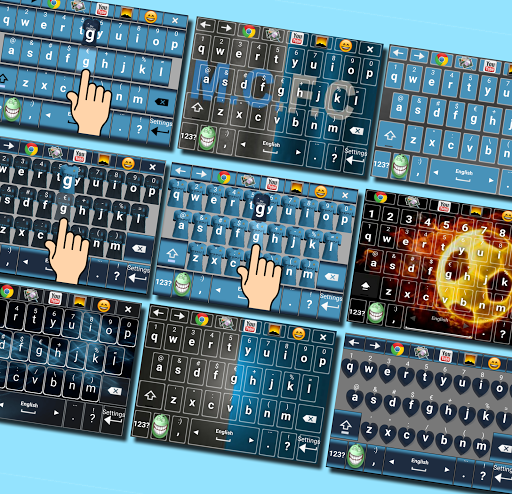 Keyboard for Man City - IconMe