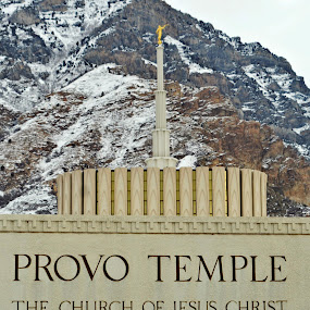 Provo Temple by Jillian Malone - Buildings & Architecture Places of Worship