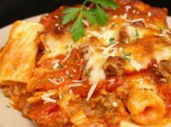 Crockpot Pizza Pasta Recipe