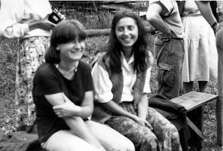 Photo: Święta Lipka 1987 zabawa Anielka z Gdańska i Marlenka z Bydgoszczy