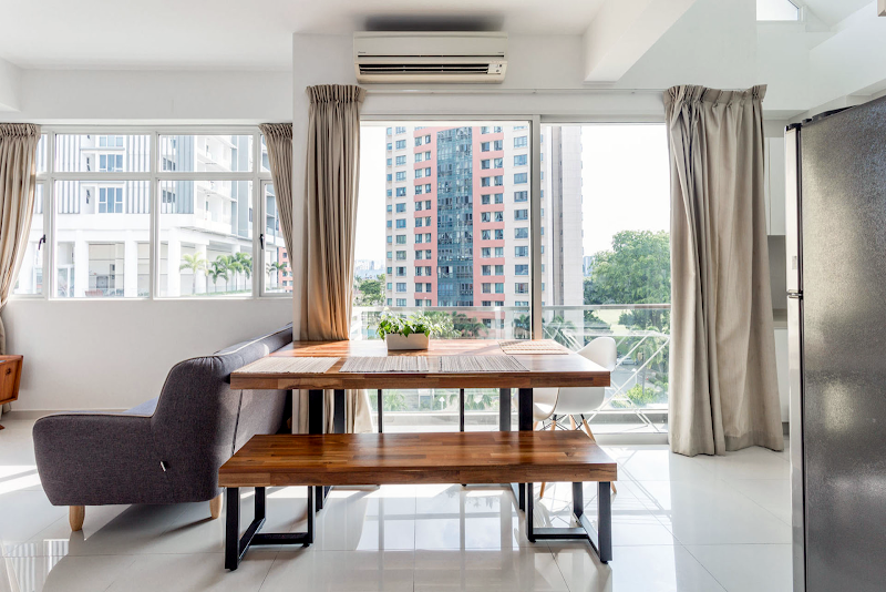 Duplex Penthouse near Dakota MRT Station living room