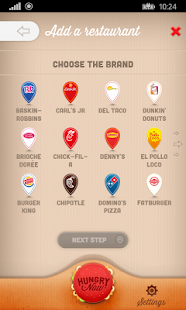Find Fast Food Near Me with your Android Smartphone