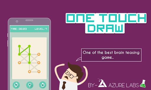 One Touch Drawing - Free Flow