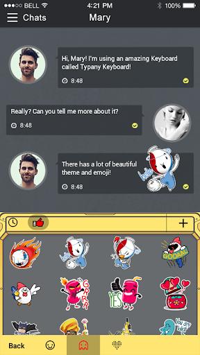 Spacecraft Panel Typany Theme  screenshots 4
