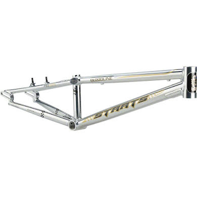 "Staats Bloodline Supermoto30 Pro Frame 20.75"" Top Tube Silver Arrow Polished"