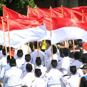 FLAG OF INDONESIA by Alnia Furwani Maulina - News & Events World Events (  )