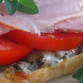 Italian Open-Faced Sandwich
