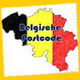Postcode Belgische icon