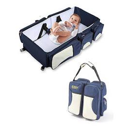 Kit de calatorie pentru bebelusi - Geanta cu accesorii 3 in 1